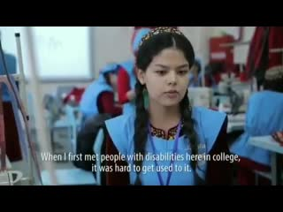 """""""social inclusion through leadership skills for disabled women in turkmenistan"""" project"""