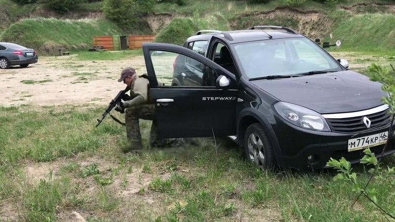 Бронежилет Ars Arma CPC и работа с транспорта