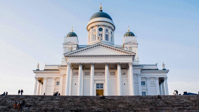 One day in Helsinki Finland Хельсинки Финляндия Canon 60d footage