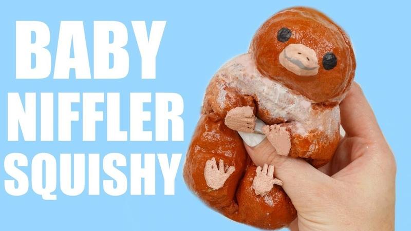 HOMEMADE BABY NIFFLER SQUISHY   Fantastic Beasts 2