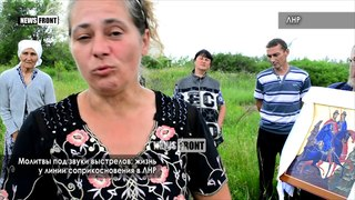 Молитвы под звуки выстрелов: жизнь у линии соприкосновения в ЛНР