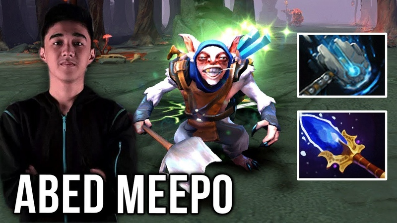 Abed Back to Meepo The Reason Why We Love Him - New Meta Build Meteor Hammer? FUN MODE WTF - Dota 2
