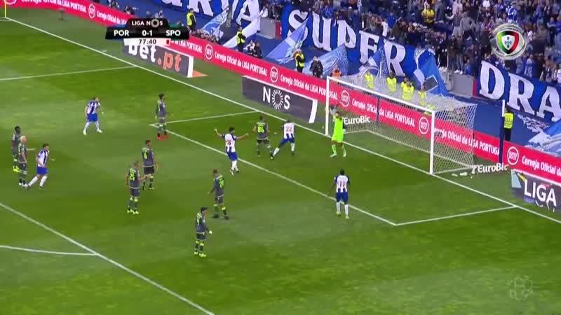 Порту Спортинг Л Обзор матча Футбол Португалия Примейра лига 18 мая LiveTV