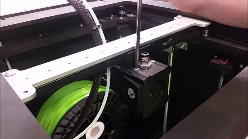 Печатная голова Z-BOLT. Снятие-разборка-сборка-установка.