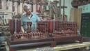 共四级【木工教学】传统木工辛全生——给德国公司做沙盘 第四集