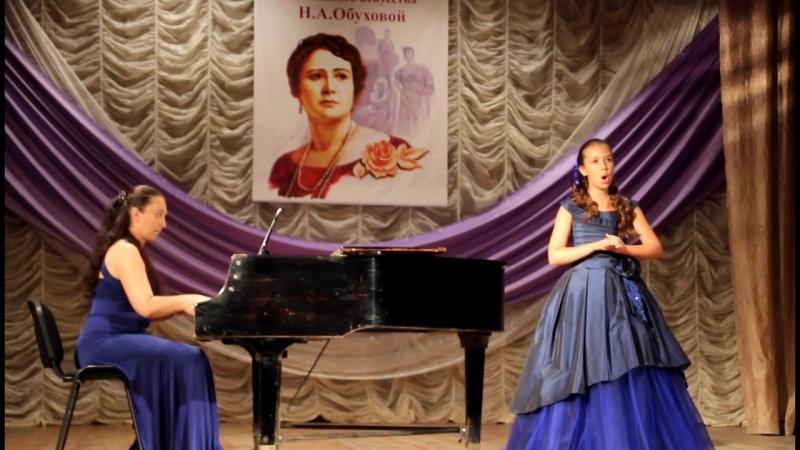 Елесина Дарья 10 лет Sento nel core Скарлатти