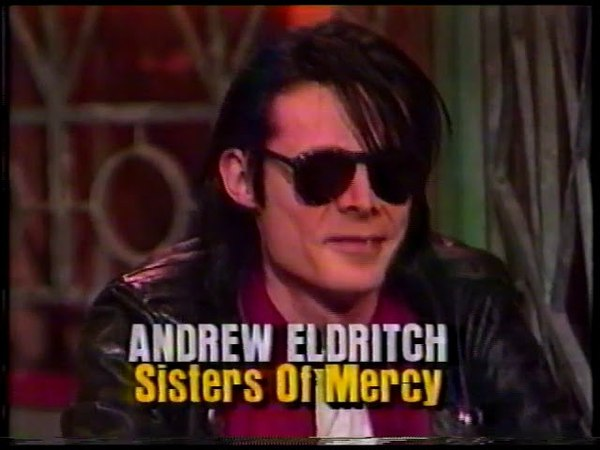 Sisters Of Mercy - Interview 120 Minutes