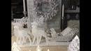МК Олени с санями Новогодняя композиция