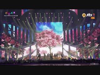 Wanna One - Light + Destiny + Spring Breeze @ 2018 MMA • Melon Music Awards 181201
