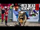 Смешное прохождение Red Dead Redemption 2 3. Приключения коника и Артурчика продолжаются