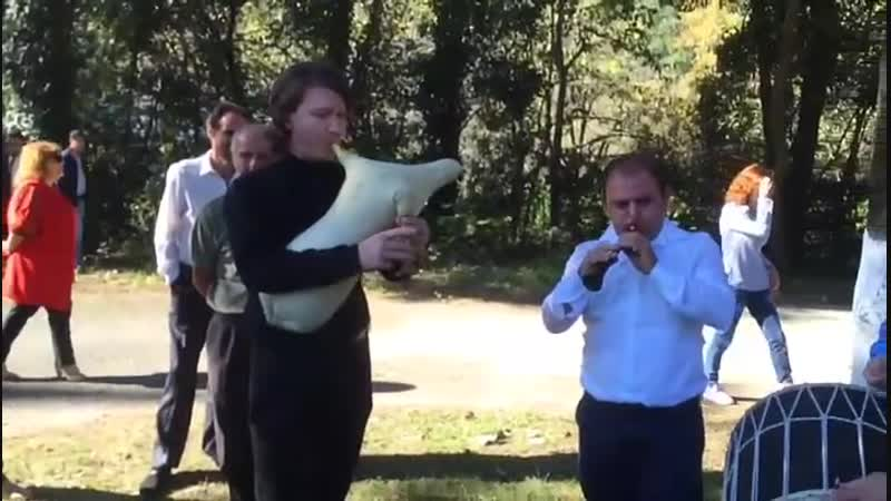 Тулум - Александр Худолев, зурна - Андраник Текнеджян и даул - Хачатур Сарьян