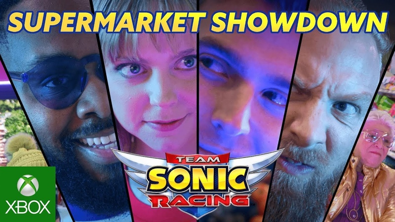 Team Sonic Racing - Live Action Trailer