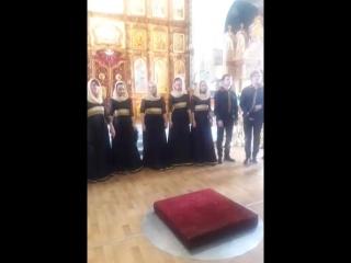 Хор храма Александра Невского фестиваль духовной музыки.