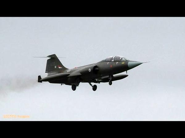 J79 HOWLING SOUND Norwegian CF104D Arrival Leeuwarden AB (EHLW)