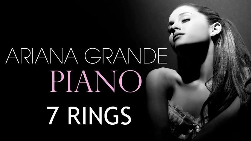 Ariana Grande - 7 Rings (Piano Tutorial) - как играть на фортепиано?