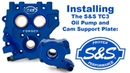 Installing The SS TC3 Oil Pump and Cam Plate
