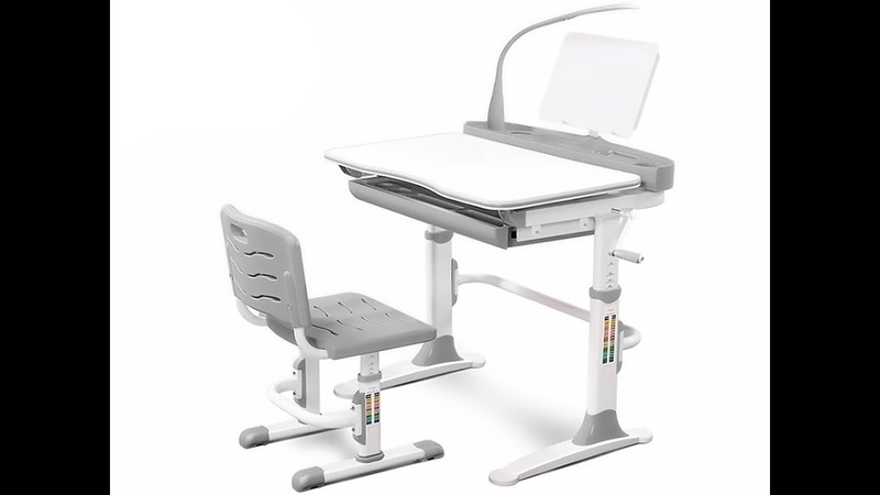 Комплект парта и стул Mealux Evo 19- Сборка и регулировка