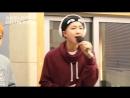 방탄소년단 BTS 하루만 라이브 140301 슈퍼주니어의 키스 더 라디오