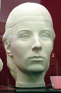 Мать Ивана Грозного княжна Глинская - реконструкция по черепу