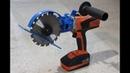 Sega circolare fai da te Drill hack (homemade circular saw)