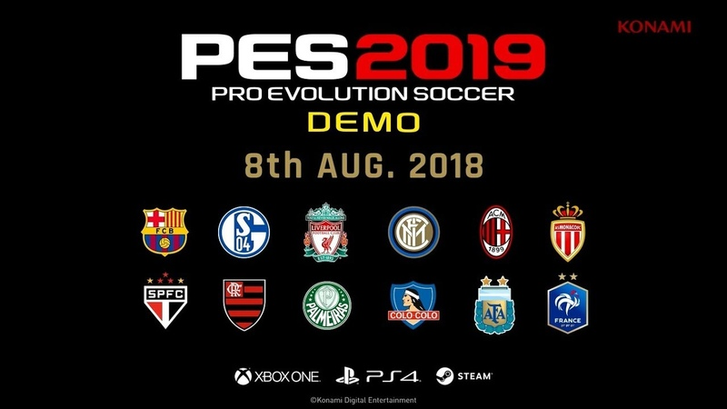 PS4 XBO Pro Evolution Soccer 2019