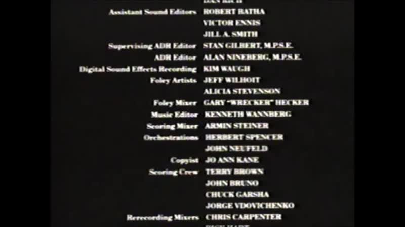 Movie End Credits 162 Home Alone