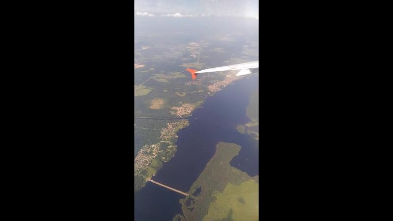 Взлет над Москвой, красоты России с высоты птичьего полета