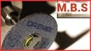 Как сделать отрезной диск для Дремеля из диска для болгарки УШМ