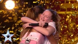 Ten-year-old Giorgia gets Alesha's GOLDEN BUZZER with MIND-BLOWING vocals! Auditions BGT 2019
