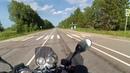 Продубас на Honda CB 750 Дорога до Старицы Часть 6