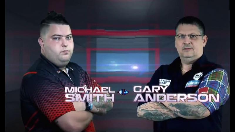 2018 Melbourne Darts Masters Semi Final Smith vs Anderson