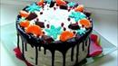 Торт Молочная Девочка Нежный торт на сгущенке со сливочно йогуртовым кремом