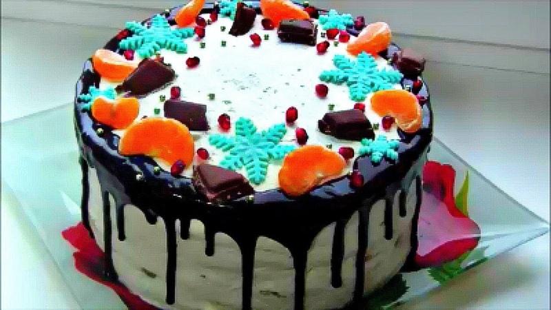 Торт Молочная Девочка / Нежный торт на сгущенке со сливочно - йогуртовым кремом