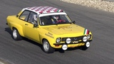 Opel Ascona Gr. 2 (historic car) - Test drive