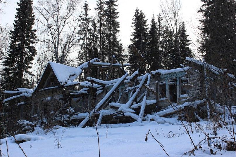 Заброшенный корпус саранинского дома отдыха
