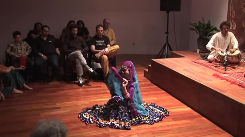 Afghan girl dance