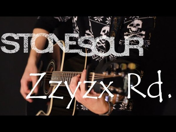 Stone Sour - Zzyx Rd. (acoustic guitar / piano / vocal cover by Dmitry Klimov)