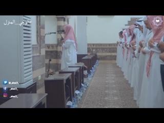 القارئ عبدالرحمن الرشود ليلة 23 رمضان 38 يبكي ويتأثر بتلاوته لآخر سورة الفرقان.mp4
