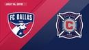 HIGHLIGHTS: FC Dallas vs. Chicago Fire | July 14, 2018