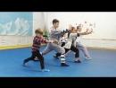 Детские занятия в Школе Мастера Ши Янбина