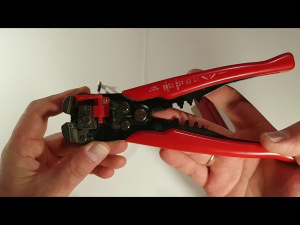 Excellent wire cable strippers Knipex CK review. Клещи для снятия изоляции.
