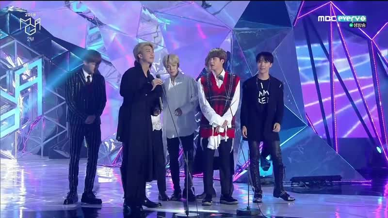 181106 BTS - Best Male Group @ MBCPlus X genie music AWARDS