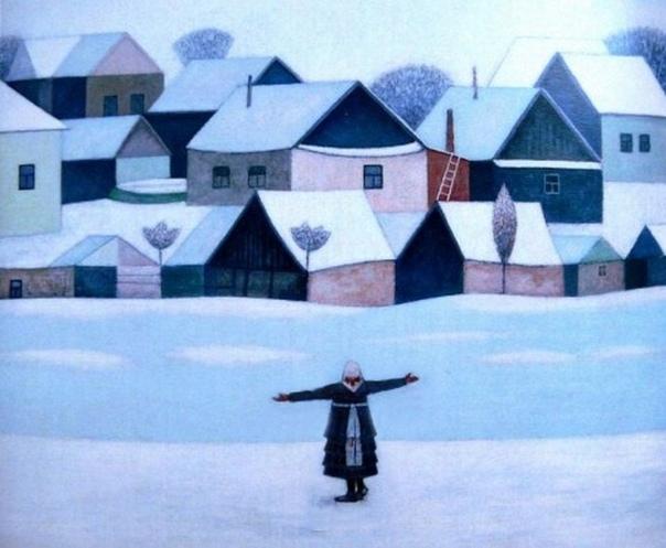 АРт-БУЗа : кому - арбуз, а кому ... Меняется ли восприятие картины от небольшого изменения её элементовДрузья, на ваш выбор работа чувашского художника Петра Петрова ( 1950-2012) и её