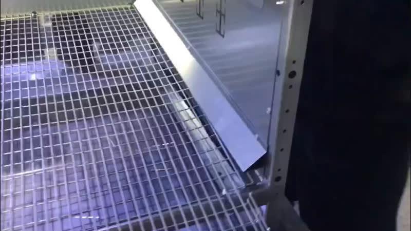 Сборка клетки для перепелов