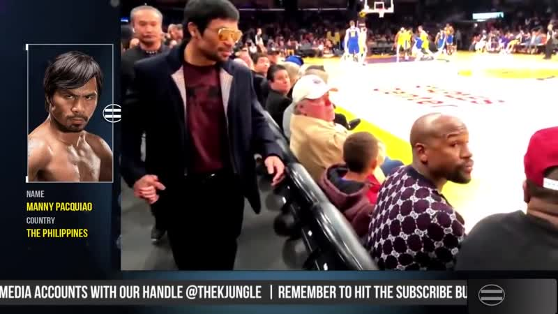 Manny Pacquiao Floyd Mayweather met again tonight at Staples Center