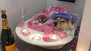 Adorable Dog And Cat Share Bath Together