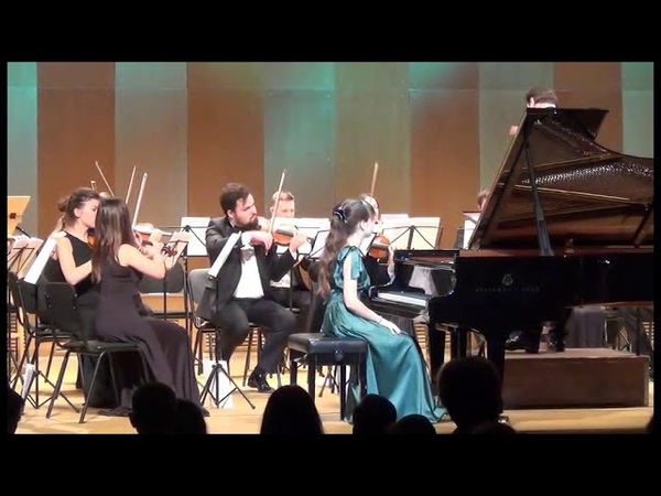 13.10.18 A. Barabanova: All Mozart piano concerts performed by children cycle
