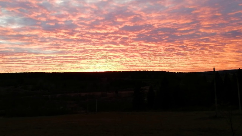 Красота закатов завораживает. Человек обязательно должен видеть линию горизонта.