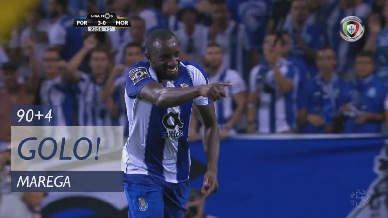 Гол Мареги (904 минута, Порту – Морейренсе 3:0)