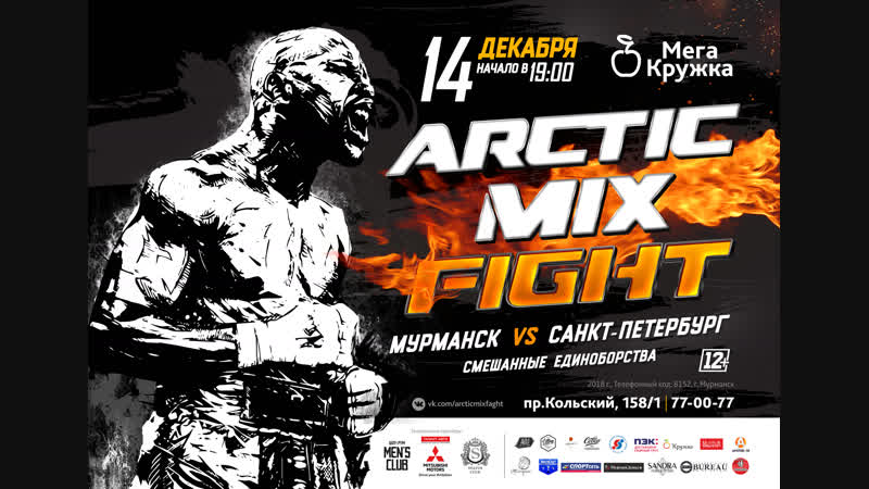 14/12 arcticmixfight в МегаКружке